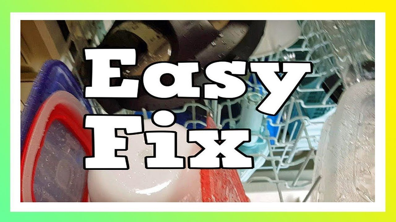 How To Fix A Dishwasher Not Drying Dishes Youtube Appliance Repair Website Fix It Dishwasher