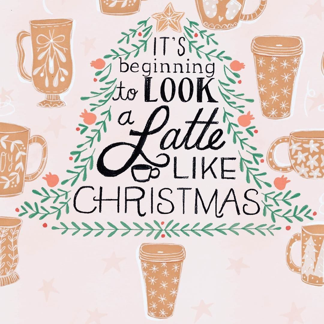 Now Im hungry. Luckily I have some gingerbread men #createchristmas #in #christmasdesign #holidayart #artlicensing #creativecalling #starbucks #coffee #latte #handlettering #greetingcards #puns