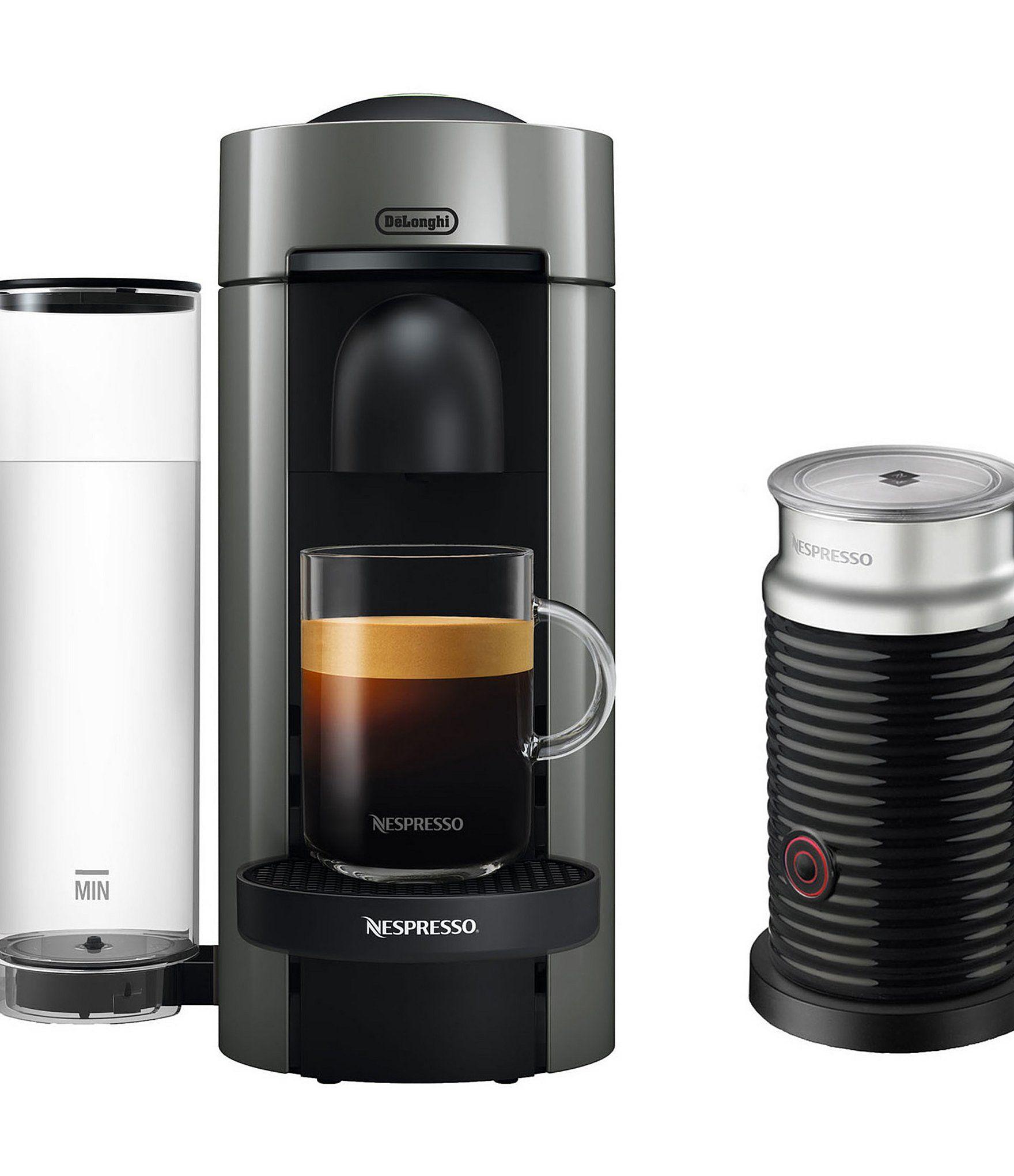 Nespresso Vertuoplus Coffee Espresso Single Serve Machine With