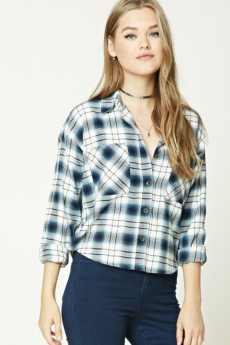 Flannel shirt women  Tartan Plaid Shirt  Sale  Sale    Forever  Canada
