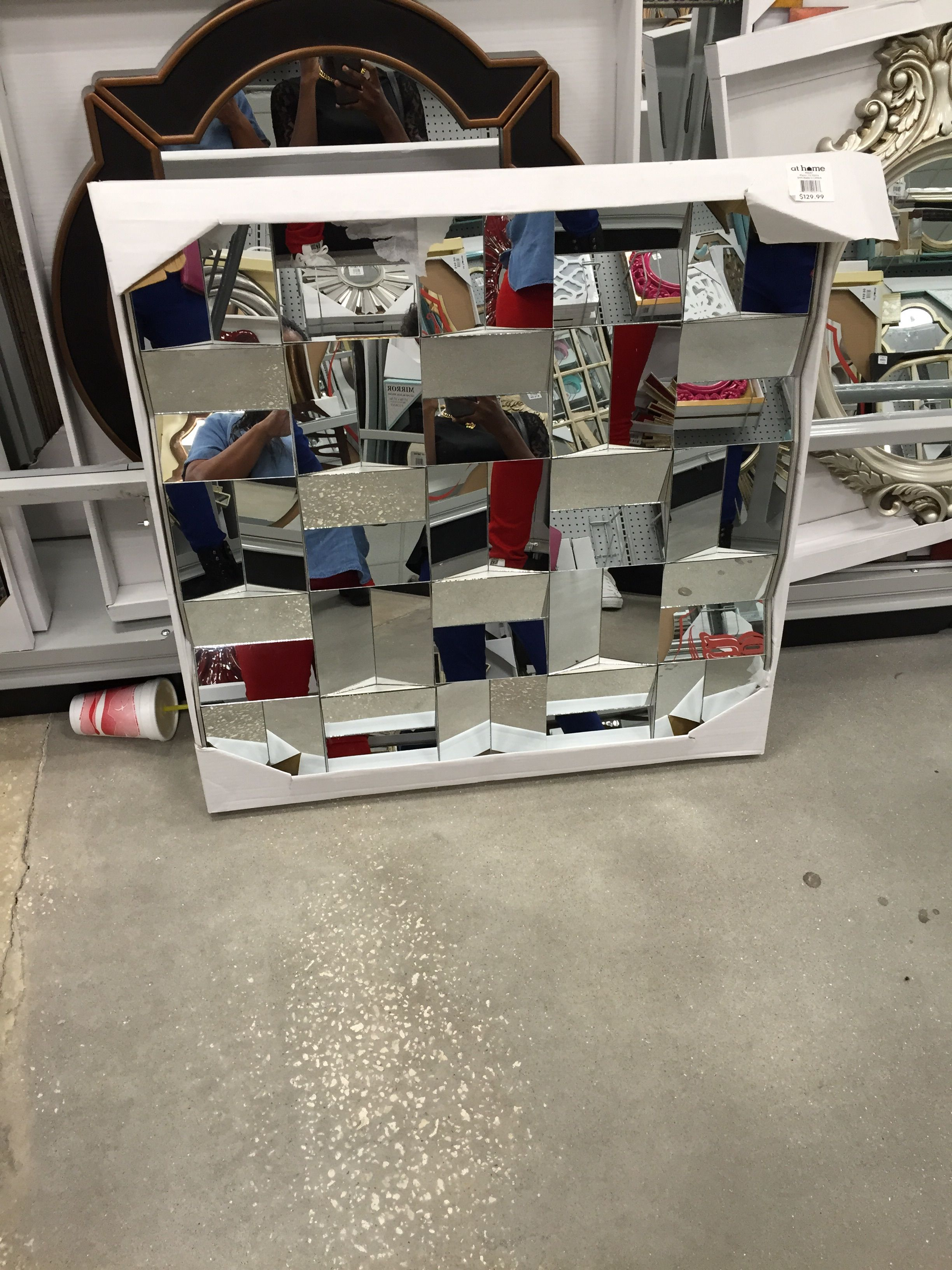 Collage Of Mirrors. Mirror. Large Mirror. At Home/Garden Ridge Has Great