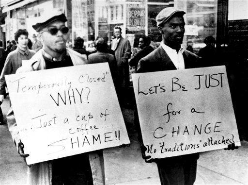 American Rights America S Civil Rights Movement カード 手書き