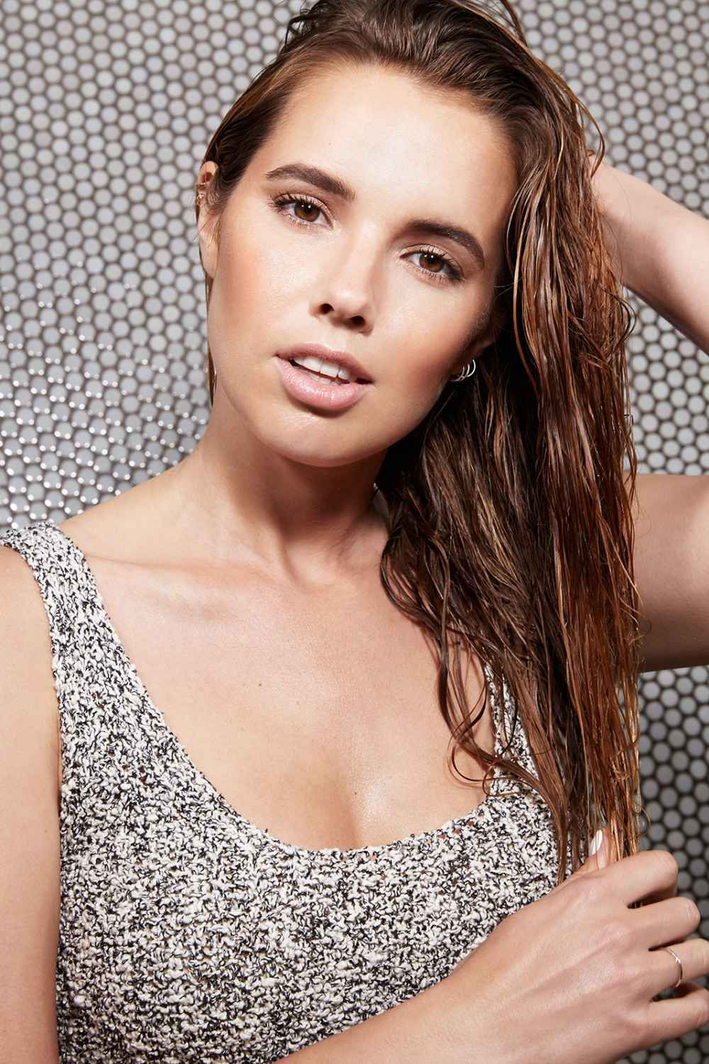 wet hairstyles to get you out the door fast wet hair buns and