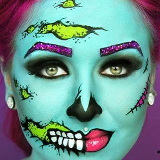 Download Pin Up Halloween Makeup Pics