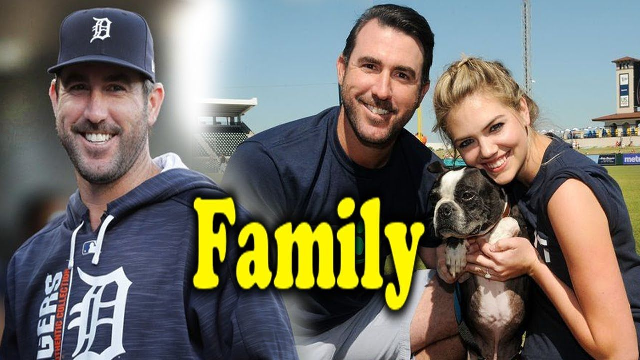 Justin Verlander Family Photos With Father Mother And Girlfriend Kate Up Famous Sports Sports Gallery Sport Player