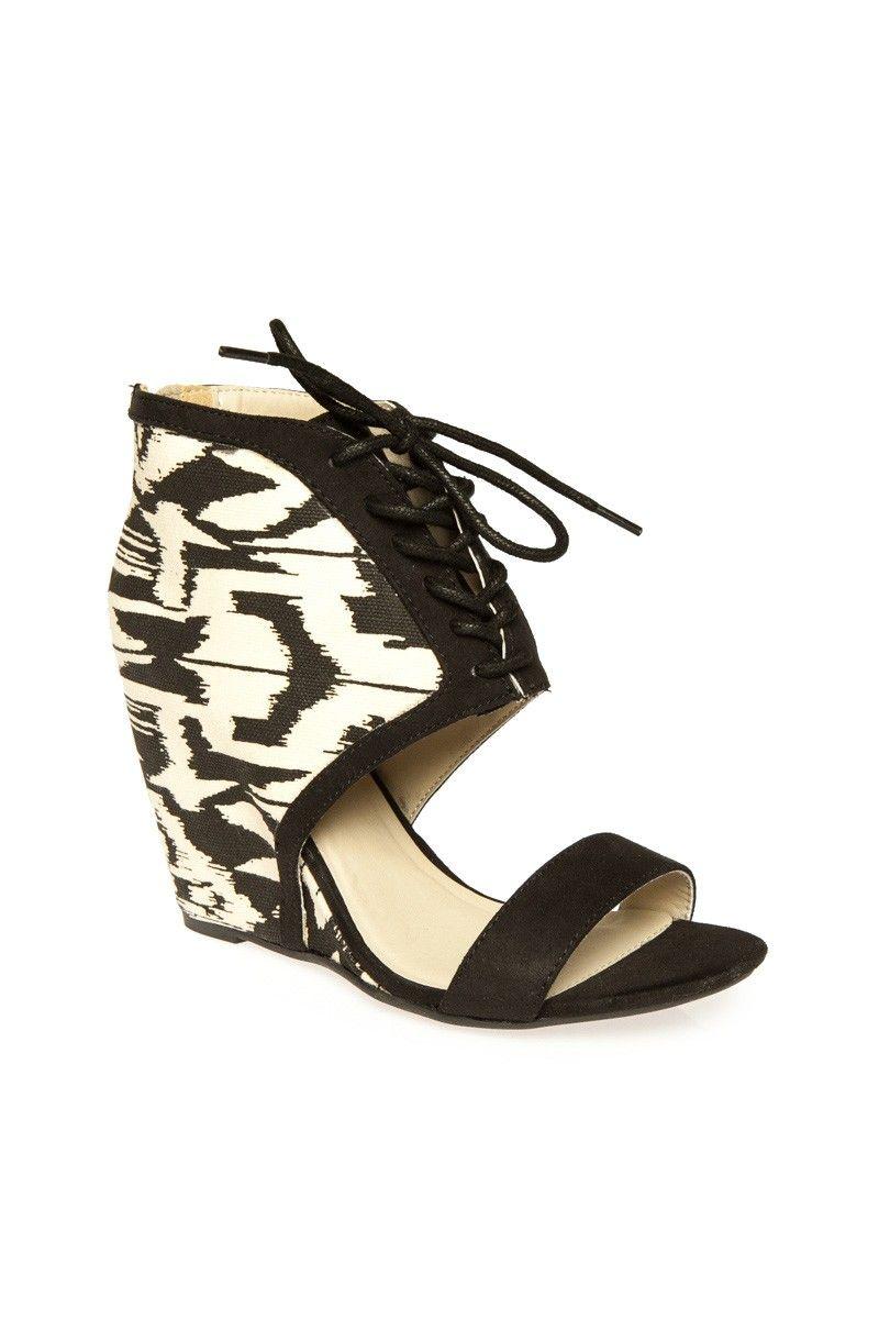 ShopSosie Style : Roxanna Ikat Wedge