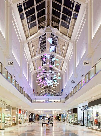 Nulty - County Mall Crawley - Retail Illumination Solution Light Art Atrium Space Lighting Design & Nulty - County Mall Crawley - Retail Illumination Solution Light ... azcodes.com