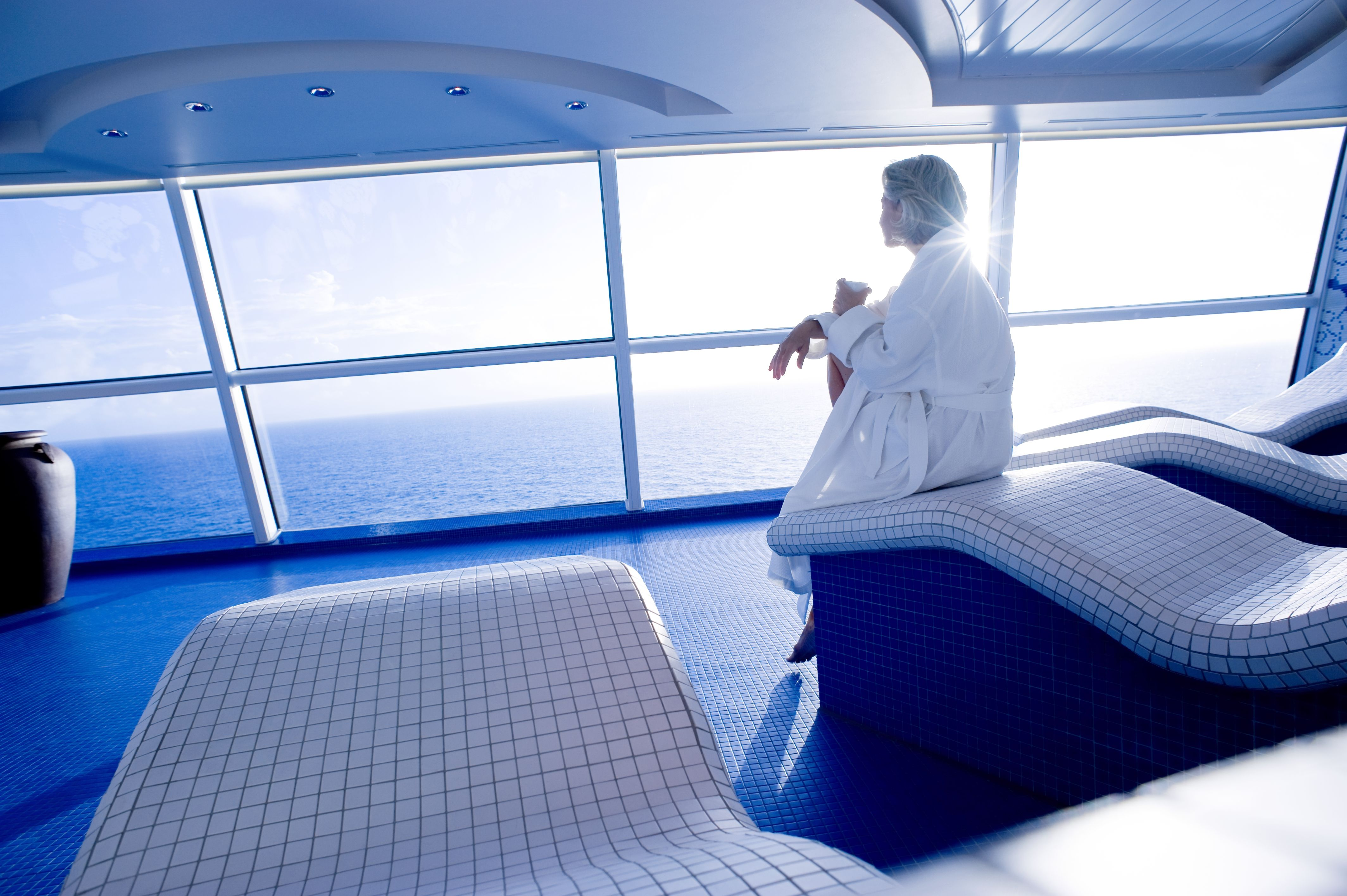 This is me at the spa on a Celebrity cruise vacation (With ...