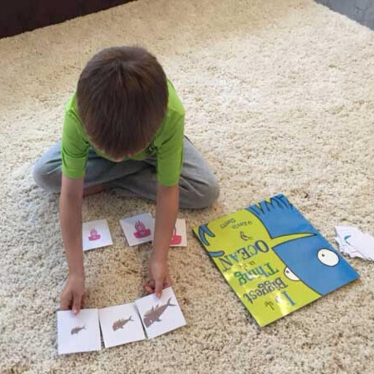 Free Printable Ocean Animal Comparing And Sorting Cards In