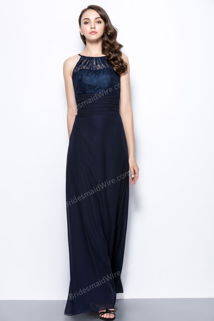 Like the dresst in navy dress pinterest long bridesmaid