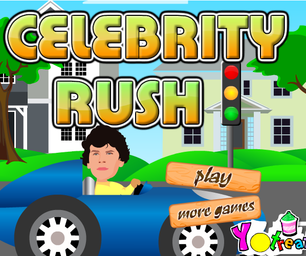 Play Celebrity Rush Game