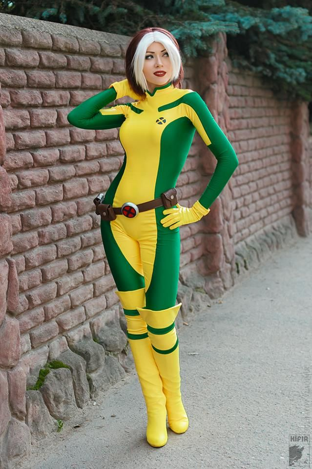 X Men Rogue Cosplay Costume Bodysuit Women Cosercosplay Com