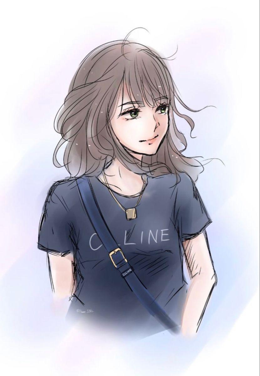 Pin Von Jasmine Renken Auf Blackpink Fan Art Portratzeichnung Madchen Zeichnen Manga Zeichnungen