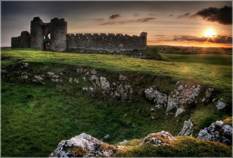 Ruins of Castle Roche, County Louth, Ireland -- 'Ancient Paths,' by Gary McParland