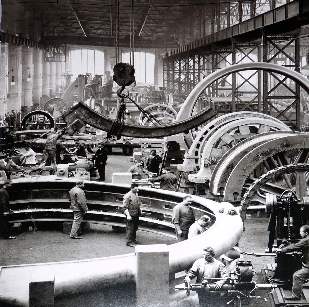 AEG Turbinenwerk,Turbinenfabrik In Der Huttenstrasse