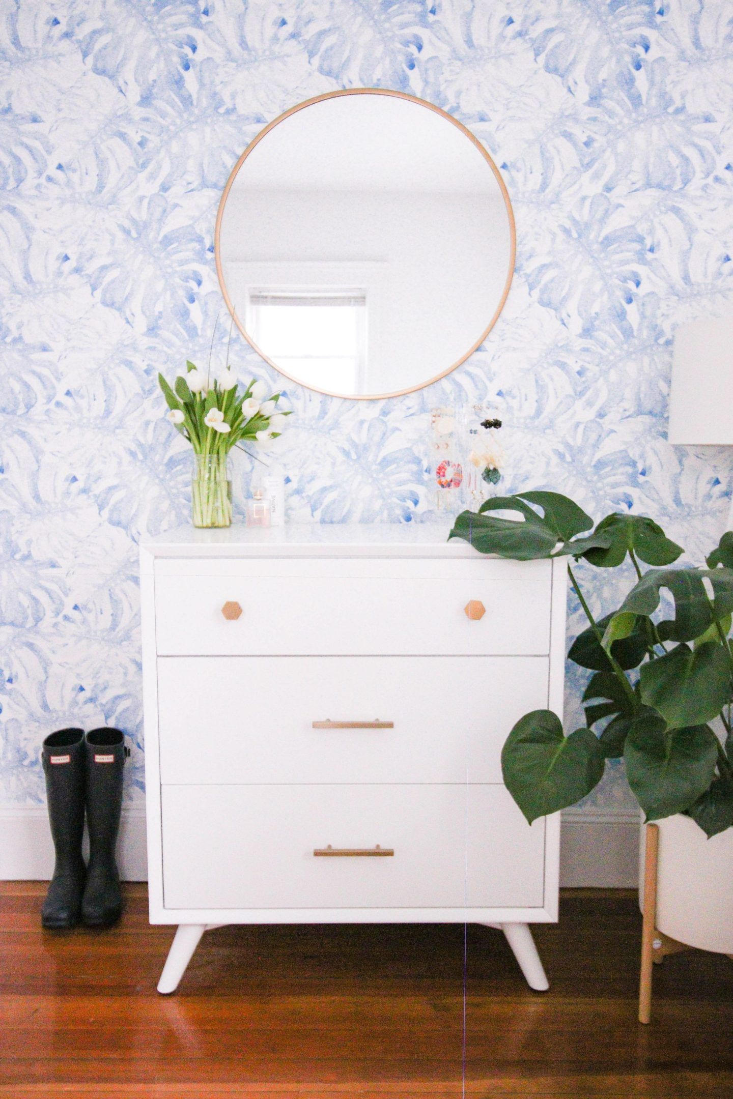 Monstera removable wallpaper Removable wallpaper