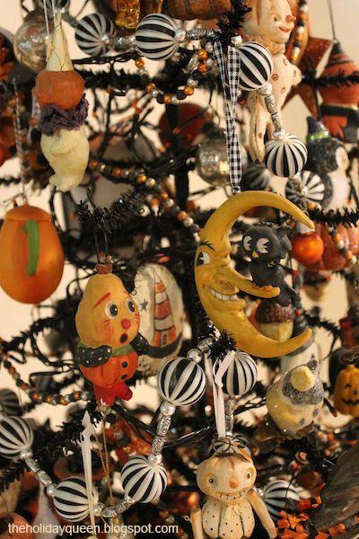 Halloween Folk Art By Melissa Valeriote Halloween Fall Halloween Decor Halloween Trees