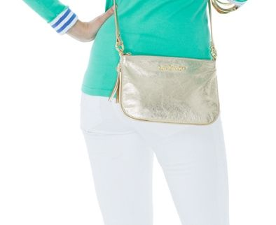 Lilly Pulitzer Downtown Leather Crossbody