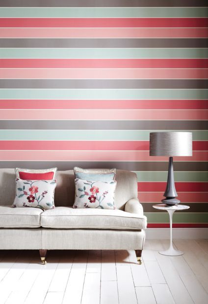 How Do I Coordinate Patterned Wallpaper And Paint | Wallpaper ...