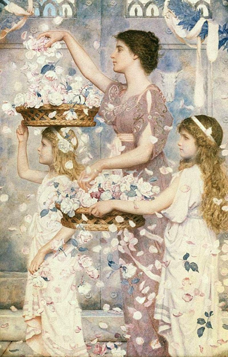 The empress comes (or Poppaea Comes) ~ George Lawrence Bulleid (1858-1933)