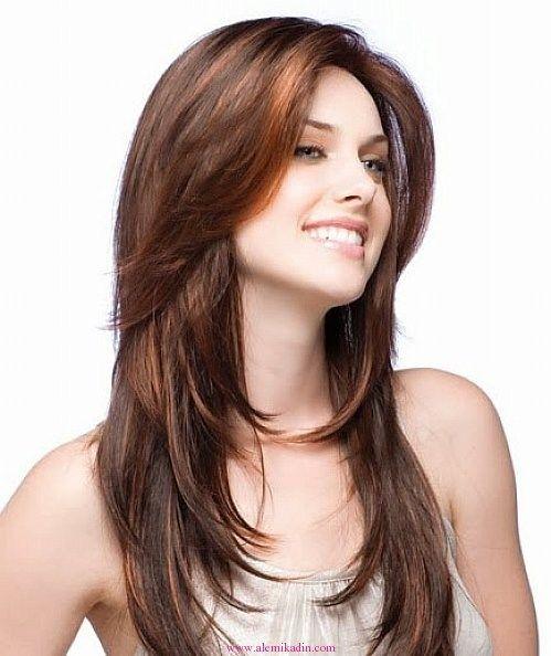 Yuz Tipine Gore Sac Modelleri Uzun Sac Kesimleri Uzun Sac Sac