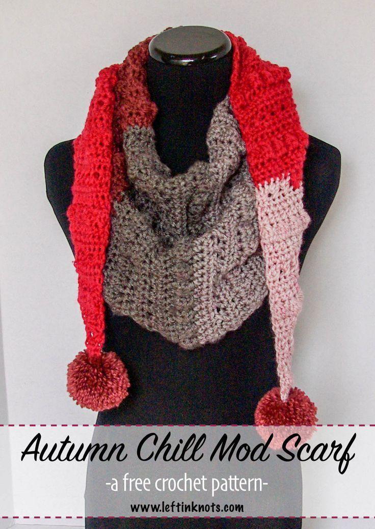 Autumn Chill Mod Scarf Scarfs And Wraps Pinterest Crochet