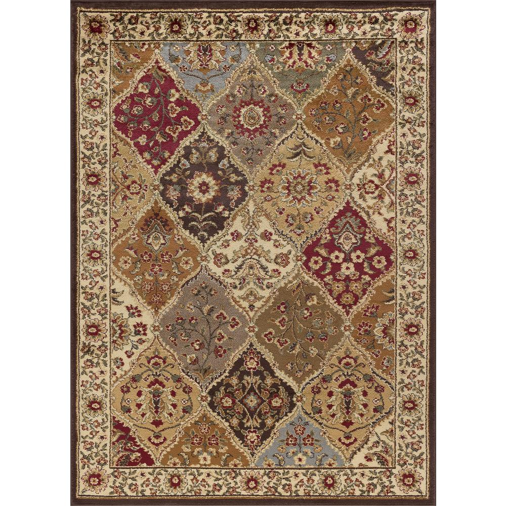 Tayse Rugs Elegance Multi 8 Ft X 10 Ft Traditional Area Rug