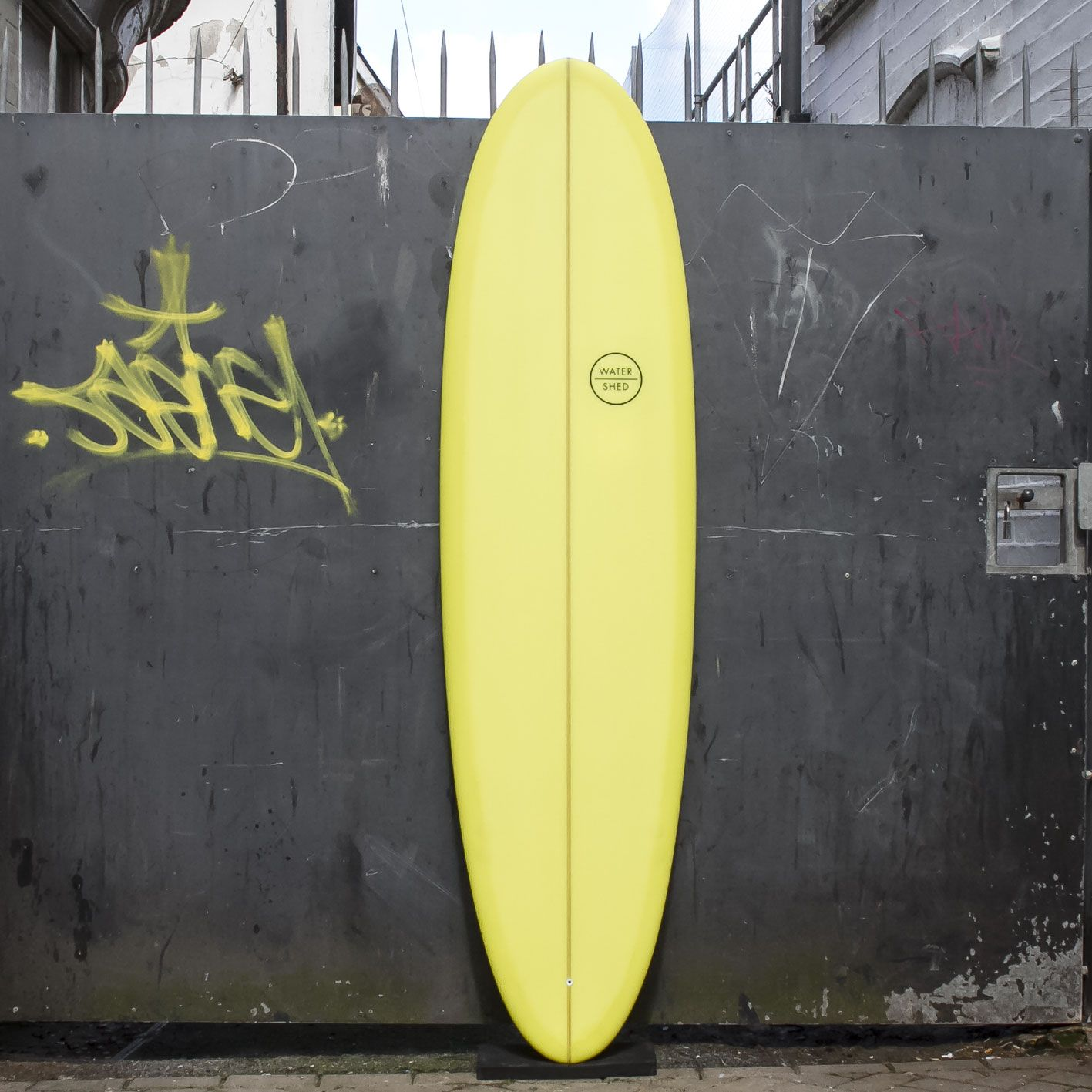 Watershed Newquay Cornwall Retro Resin Tint Yellow Mid Length Egg