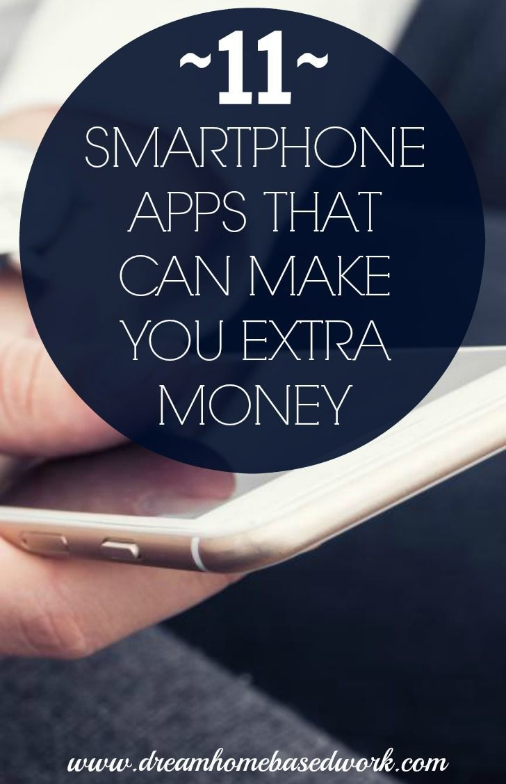 Discover various ways to make money while at home using these 11 awesome smartphone apps. make money from home, make extra money #makemoney