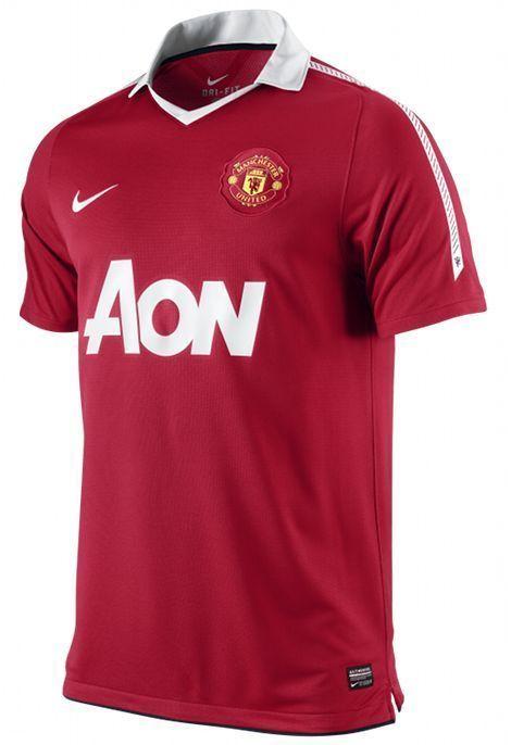 e5d8e70e5d6 Nike Unisex Junior Kids Manchester United Home Shirt 2010  2011