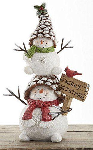 Merry Christmas Pinecone Snowman Stack 7.8 Inch Resin with Cardinal Delton http://www.amazon.com/dp/B00MNUD5UM/ref=cm_sw_r_pi_dp_BHFGub0CB6H9P