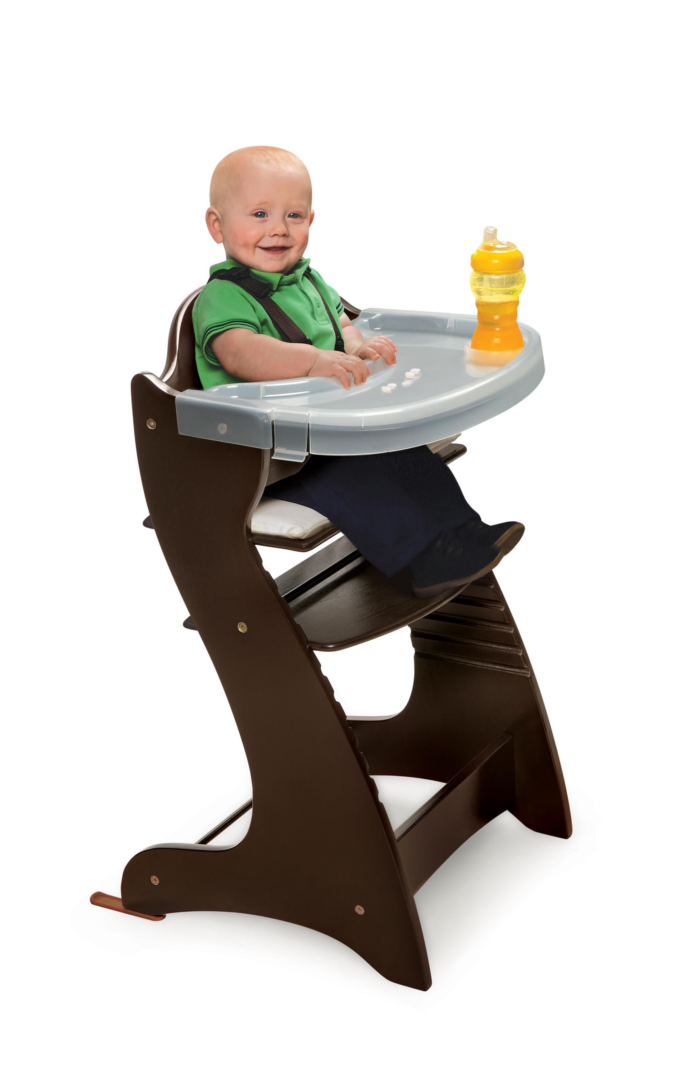baby premium high frame highchair for chairs multi safetots height a feeding itm chair wooden babies