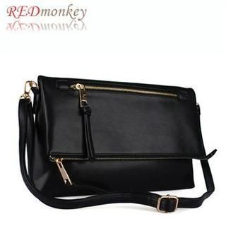 Buy 'REDmonkey – Zip-Detail Clutch with Strap' with Free International Shipping at YesStyle.com. Browse and shop for thousands of Asian fashion items from South Korea and more!