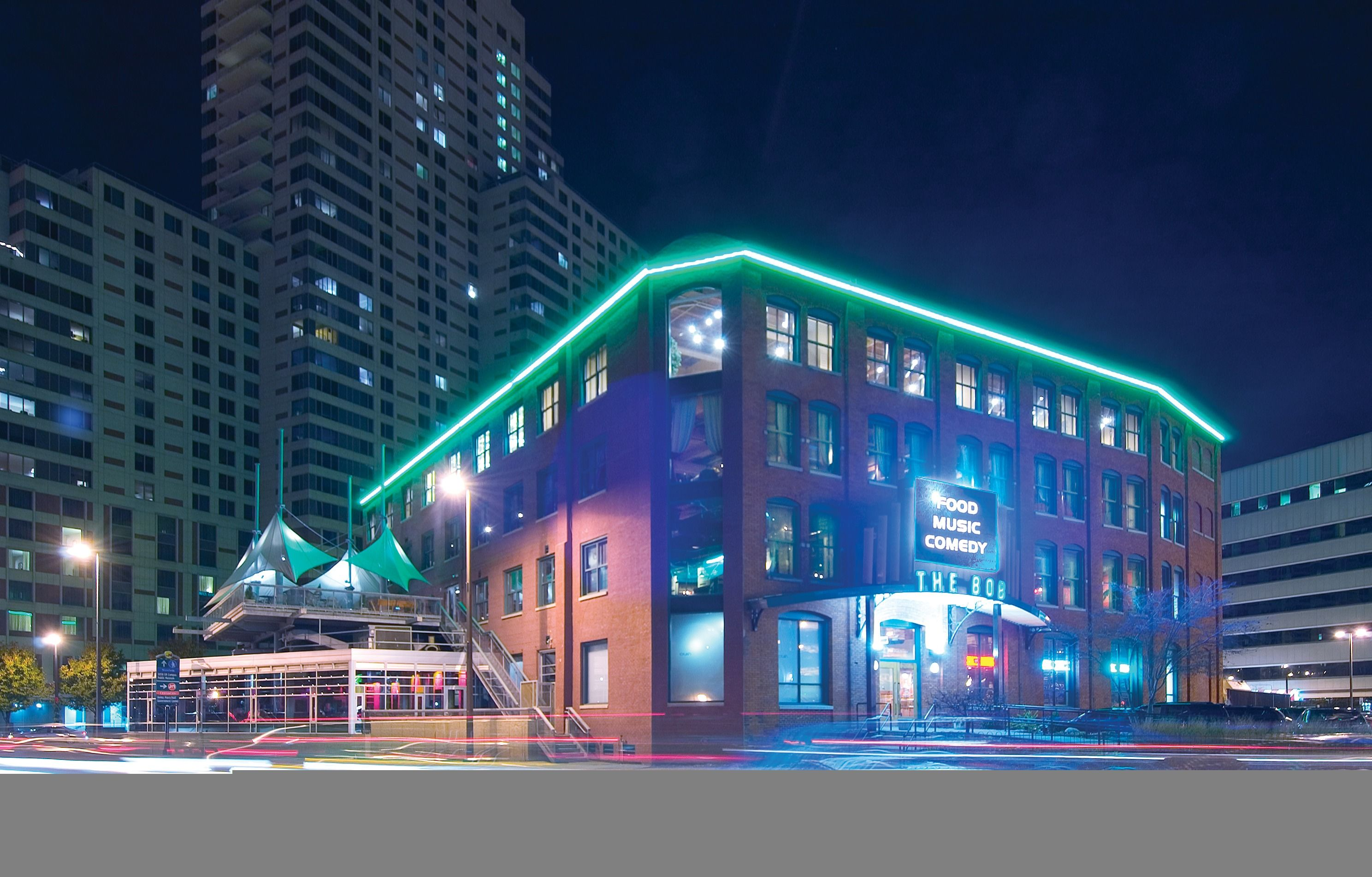 Spotlight The Big Old Building B O B In Grand Rapids Grand Rapids Grand Rapids Michigan Night Life