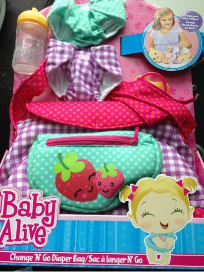 Baby Alive On The Go Baby Carrier N Purse Christmas