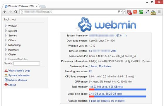 How To Install Webmin On Centos 7 Installation Linux Networking