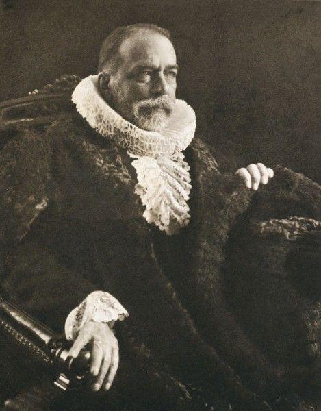 Die Kunst in der Photographie : 1900 Photographer: Rudolf Dührkoop Title: Bürgermeister Hachmann