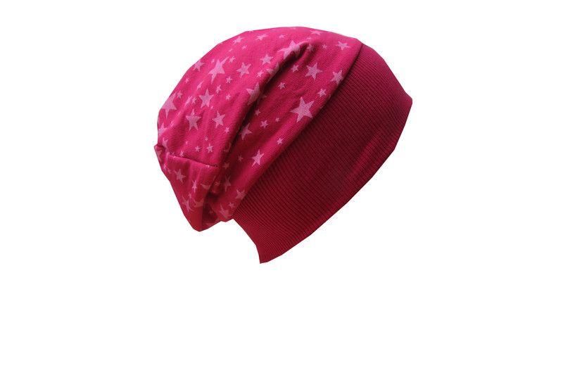 Beanie Mütze Sterne KU 50-55cm von NoGo!