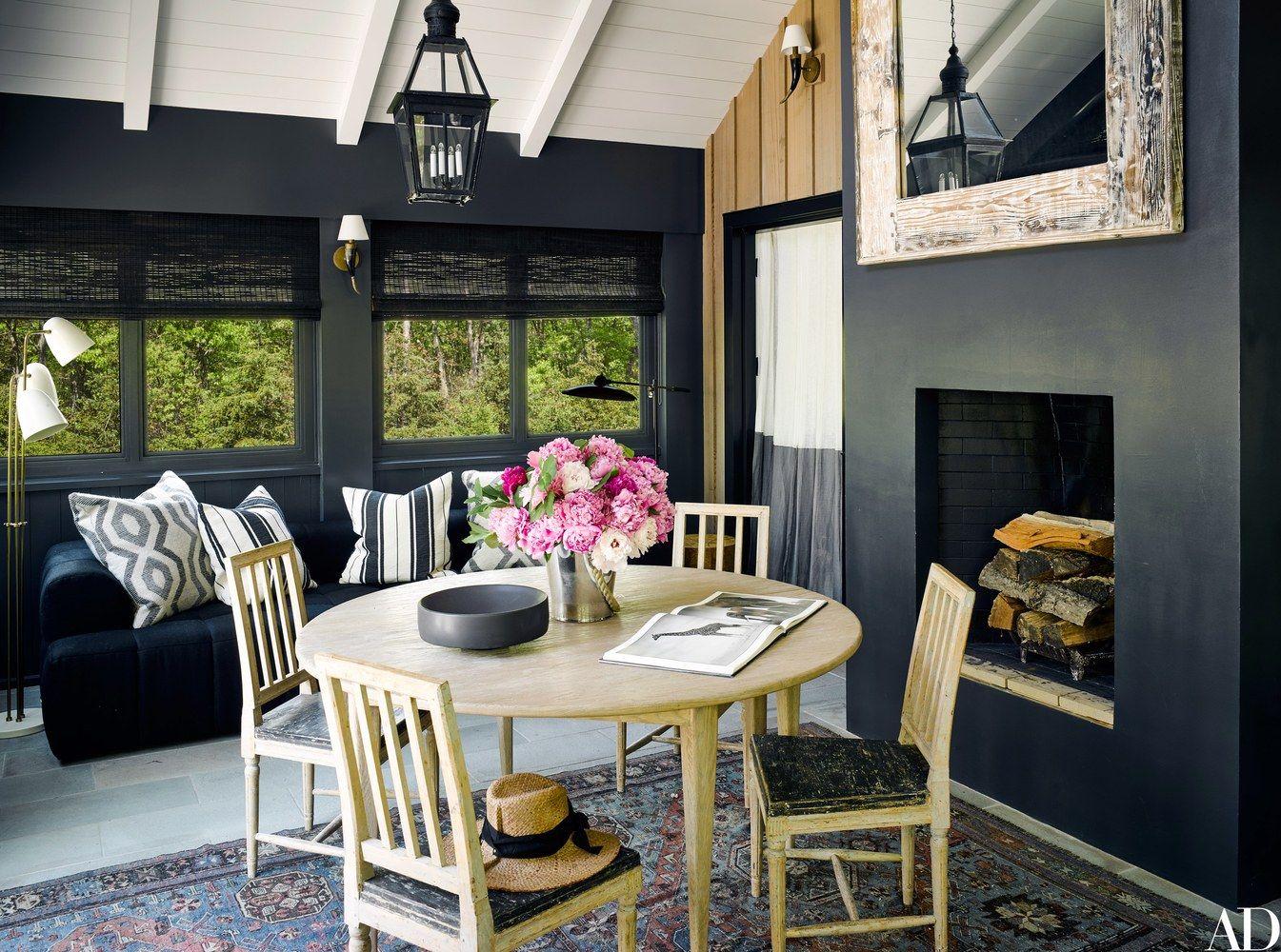Decor Inspiration: Ellen Pompeo's Modern Barn Home in Sag Harbor, NY #blackwalls