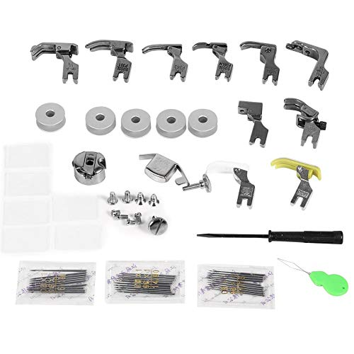 uxcell #SP-18R Industrial Sewing Machine Hinged Presser Foot with Right Guide 1//16 3pcs 2mm