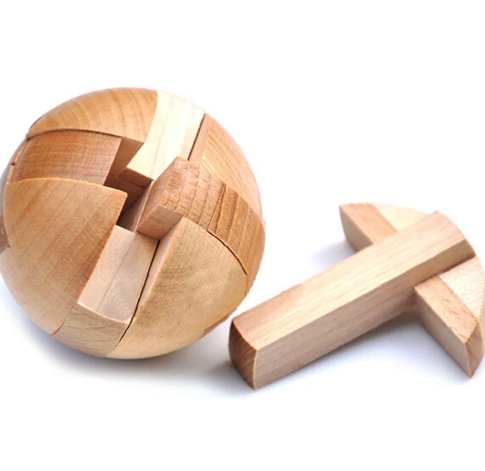 Magic Wooden Box Puzzle Brainteaser Test your friends IQ