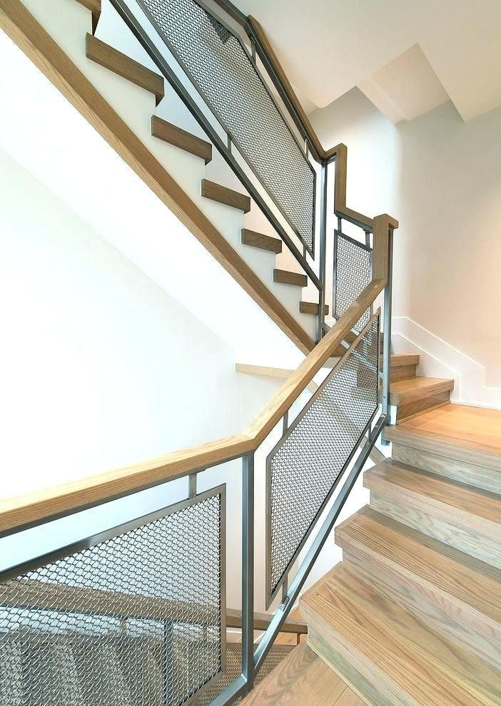 Handrail Design Industrial Stair Railing Staircase With ...