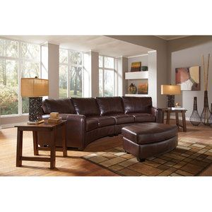 Wildon Home Princeton Bonded Leather Sectional  sc 1 st  Pinterest : wildon home sectional - Sectionals, Sofas & Couches