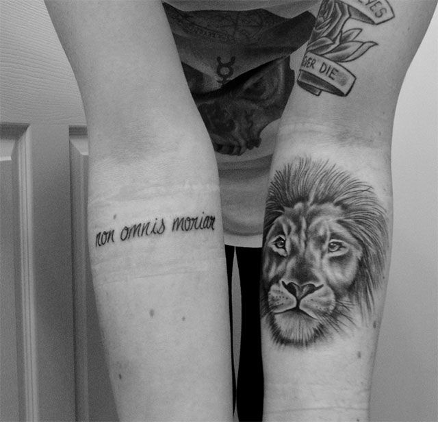 f1013c62c Expressions on body: 20 inspiring latin quote tattoos | {tattoos ...