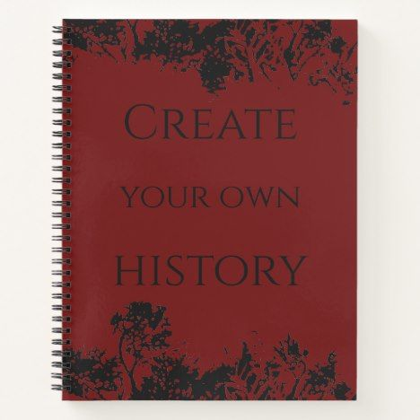Photo of Create your own history notebook | Zazzle.com