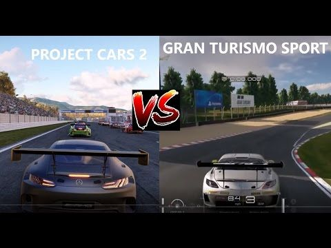gran turismo sport beta vs project cars 2 mercedes gt3. Black Bedroom Furniture Sets. Home Design Ideas