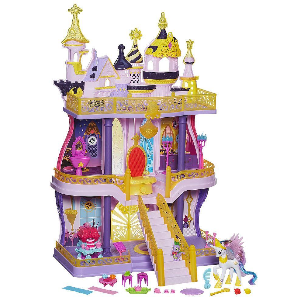 My Little Pony Cutie Mark Magic Canterlot Castle Playset Little Pony My Little Pony Pony