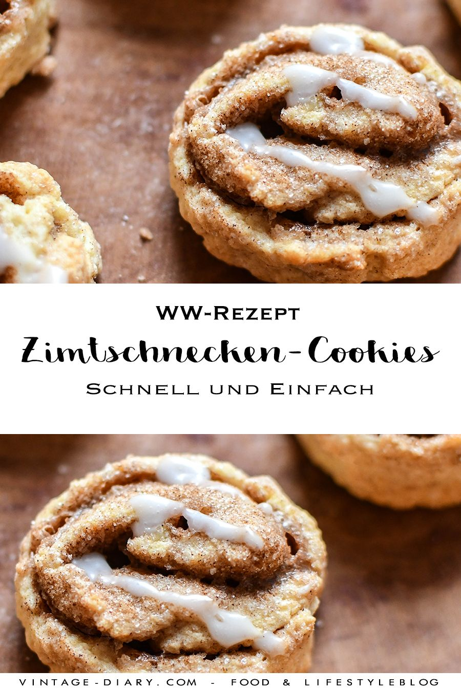 WW Rezept: Zimtschnecken-Cookies - vintage-diary