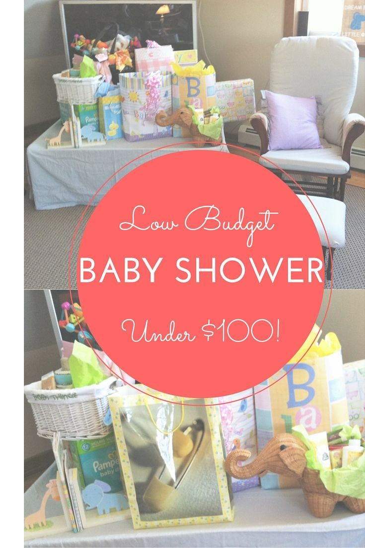 Beautiful Budget Baby Shower