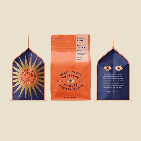 Kenny Coil @kennycoil - A little design and packaging exploration for a recent branding project. We didnt move forward with this direction but still in love with those eyes. @breakmaiden . Feature: @worldbranddesign Submit: /submit .
